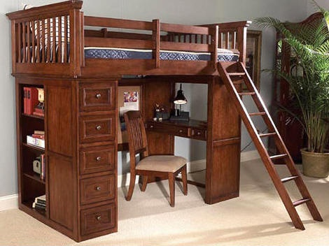 53 best loft/bunk beds images on pinterest | 3/4 beds, lofted beds