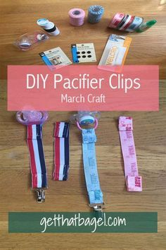 Every month I try out a new craft, and this one was pacifier clips for my niece and nephew! I am so proud of the results. It is incredibly easy, and great for matching accessories and outfits!