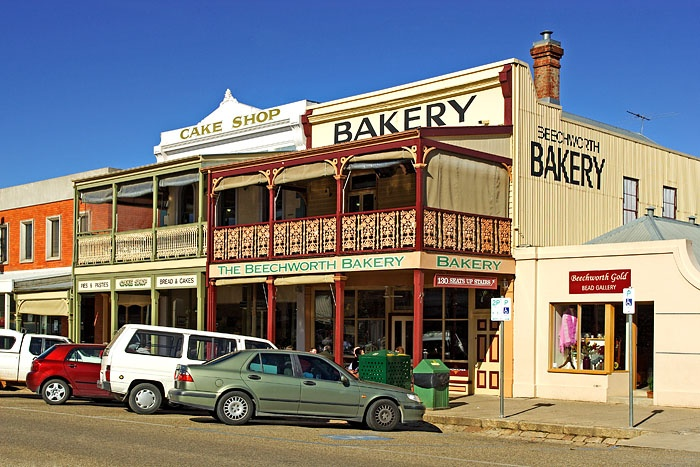Beechworth Bakery, Beechworth, Victoria