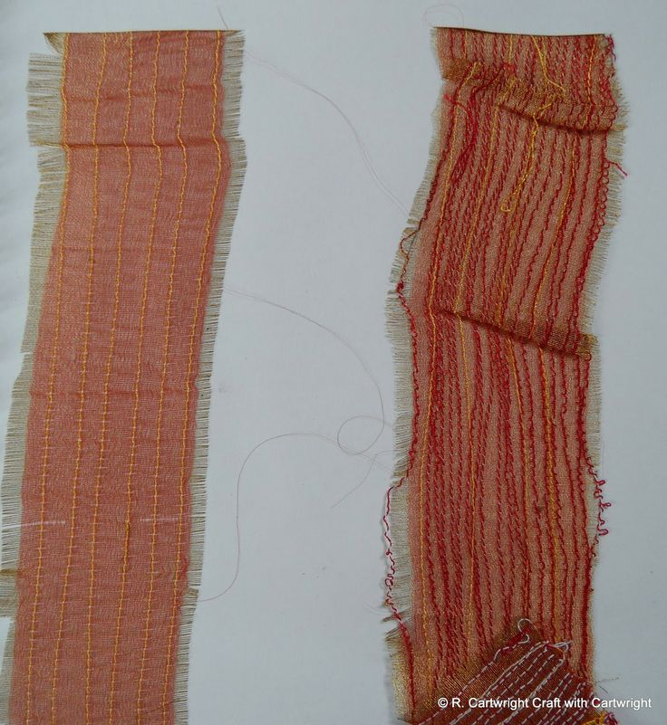 Ribbon art project Craft with Ruth Cartwright