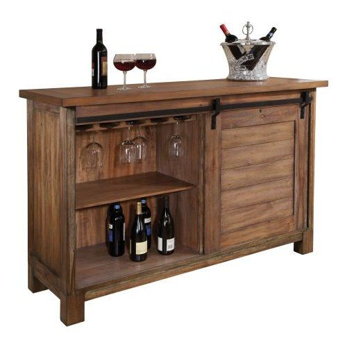 Howard Miller® Homestead Wine Bar Cabinet