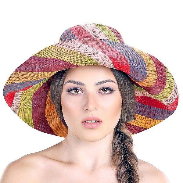Купить Шляпки соломенные, Пляжные шляпы Раффи