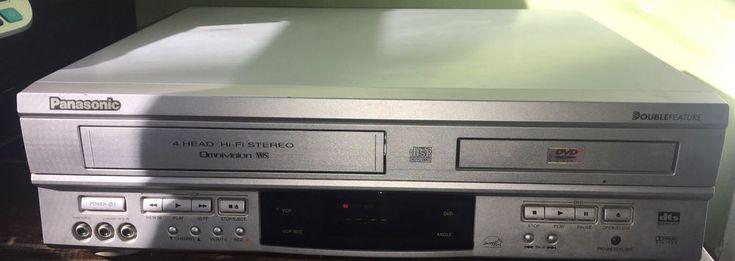 Panasonic PV-D4752 Double Feature Progressive Scan DVD Player / VCR #Panasonic
