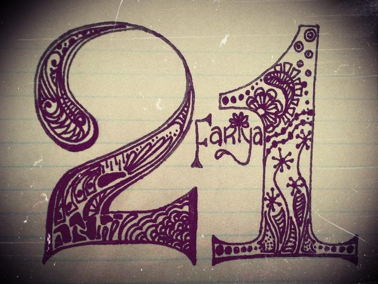 Fariya 21 . . . one of my own Zendala creations :): Zendala Creations, Fariya 21, Design