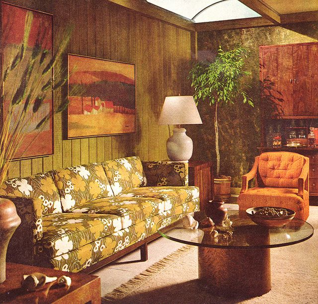 1000+ Ideas About Retro Living Rooms On Pinterest