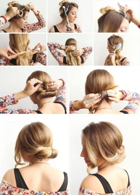 besten 25 lange haare frisuren selber machen ideen auf