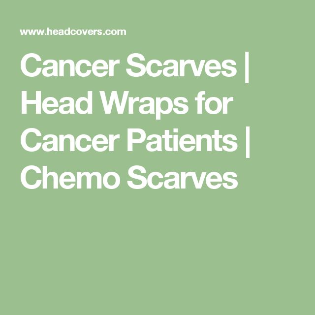 Cancer Scarves | Head Wraps for Cancer Patients | Chemo Scarves