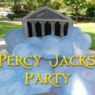 A Percy Jackson Party {book themed party}