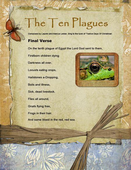 Exodus Lesson: Ten Plagues Song: