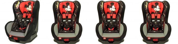 Cadeira Para auto 0 a 25 Kg Disney Cosmo SP Preta Mickey
