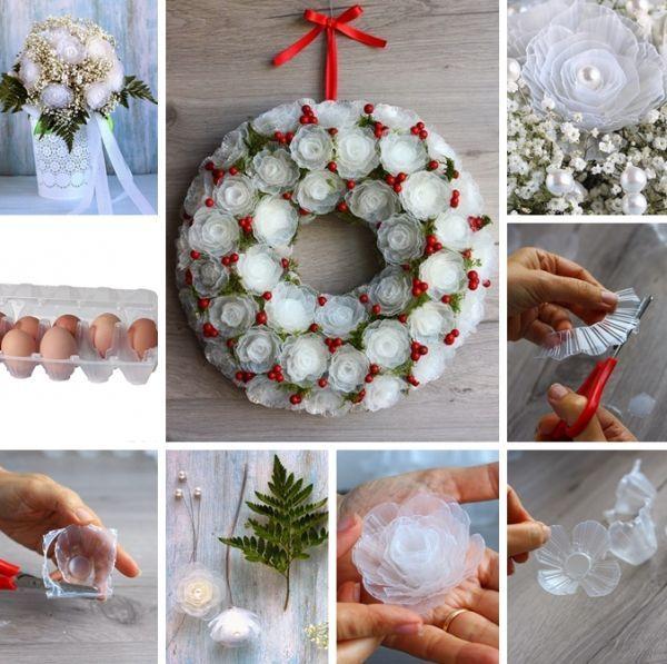 Como Fazer Flor De Caixa De Ovo 15 Fotos E Ideias Avec Images