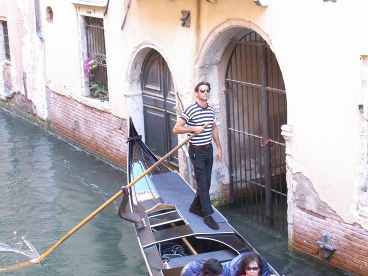 Enter the Gondolier.Too cool for school.