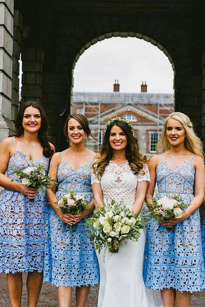 Rustic Bridesmaid Dresses Short