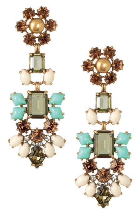 Stella & Dot Melanie Chandeliers.   Shop these earrings at www.stelladot.com/nicolecordova