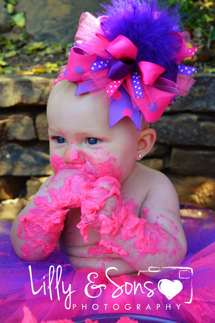 Gifts For Sons: Baby Brylee! #1/2 Birthday #Cake Smash #6 Months