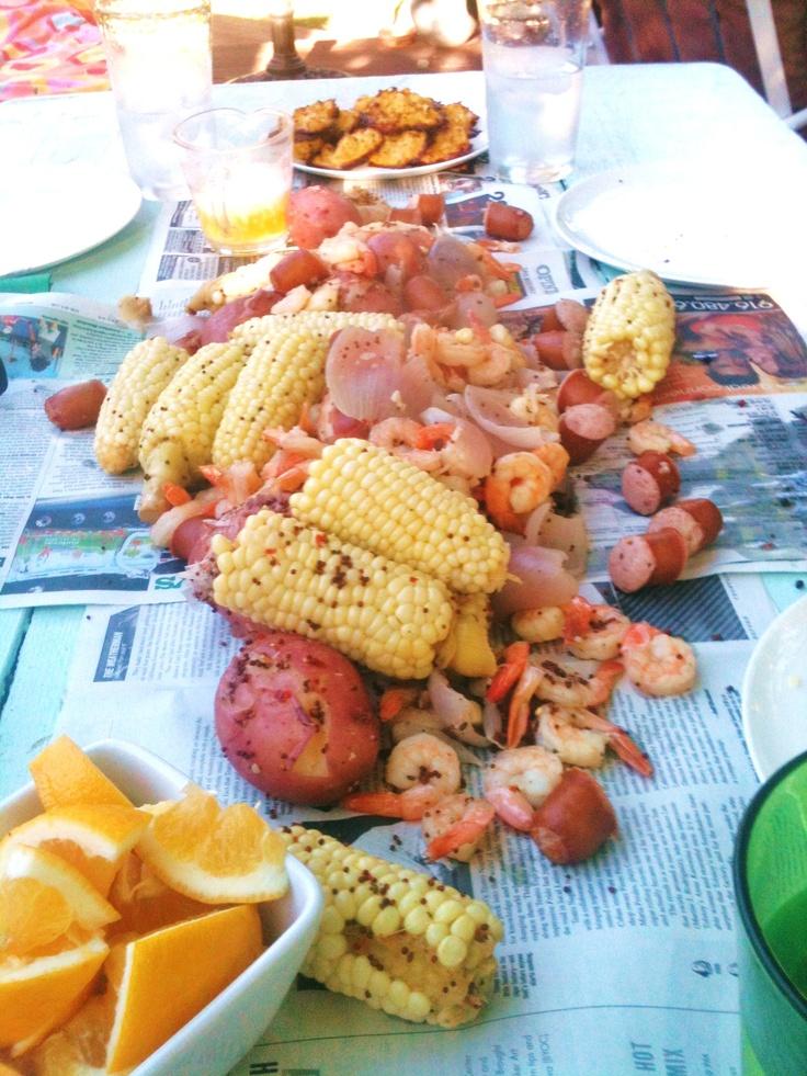 Low Country Shrimp Boil | Recipes | Pinterest