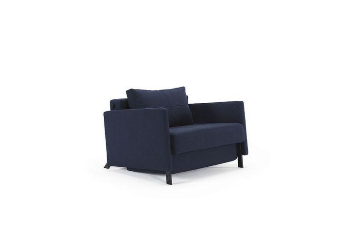 Cubed (slaap)stoel met armleuningen van Innovation Living www.innostore.nl
