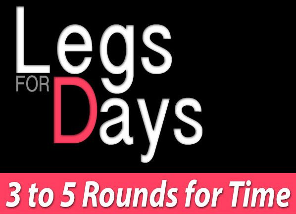 Legs 4 Days Workout: Bodyweight Workout For Your Lower Body