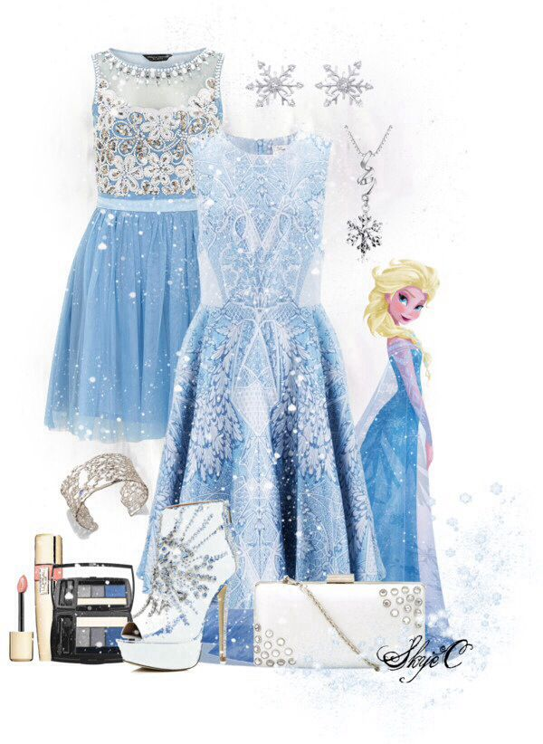 """This outfit is perfect if you just want to """"let it go""""!"""