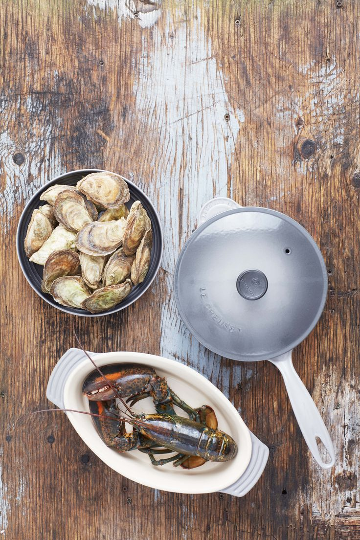 Le Creuset Saucier Pan & Oval Dish in Oyster (With images