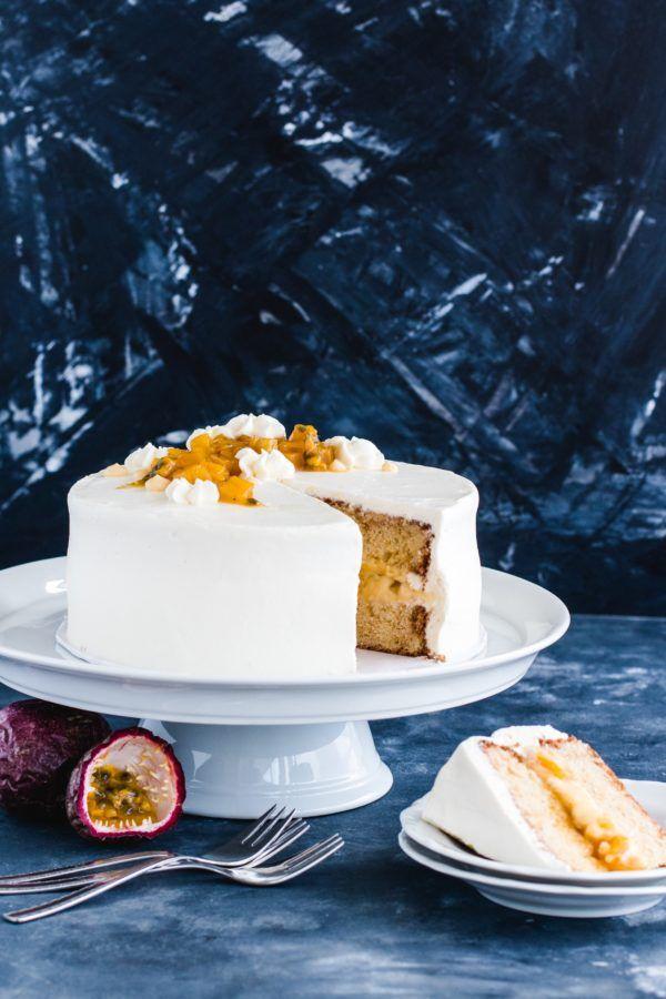 Fruchtige Mango Maracuja Torte Mit Mango Kompott Maracuja Torte Kuchen Und Torten Rezepte Und Kuchen Und Torten
