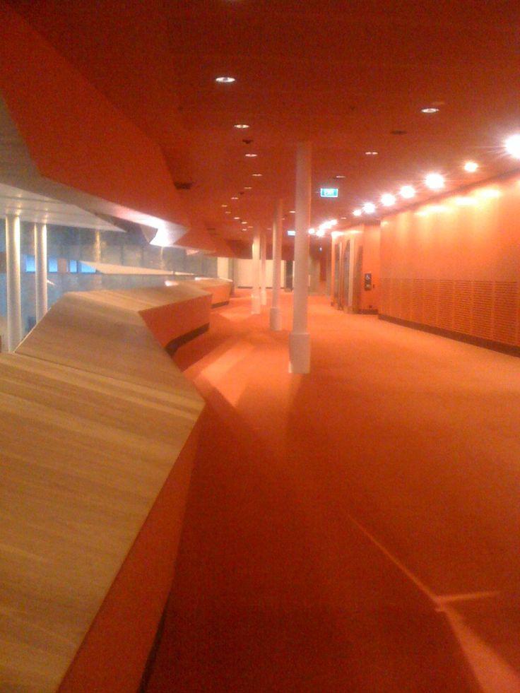 #AIDS2014, Melbourne Convention & Exhibition Centre. Interior. Photo by Tamara Desiatov