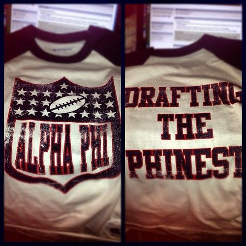 Alpha Phi: Drafting the Phinest