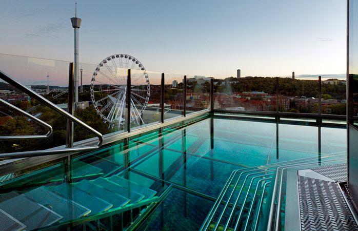 hoteis com piscina - Gothia Towers-hoteis-com-piscina