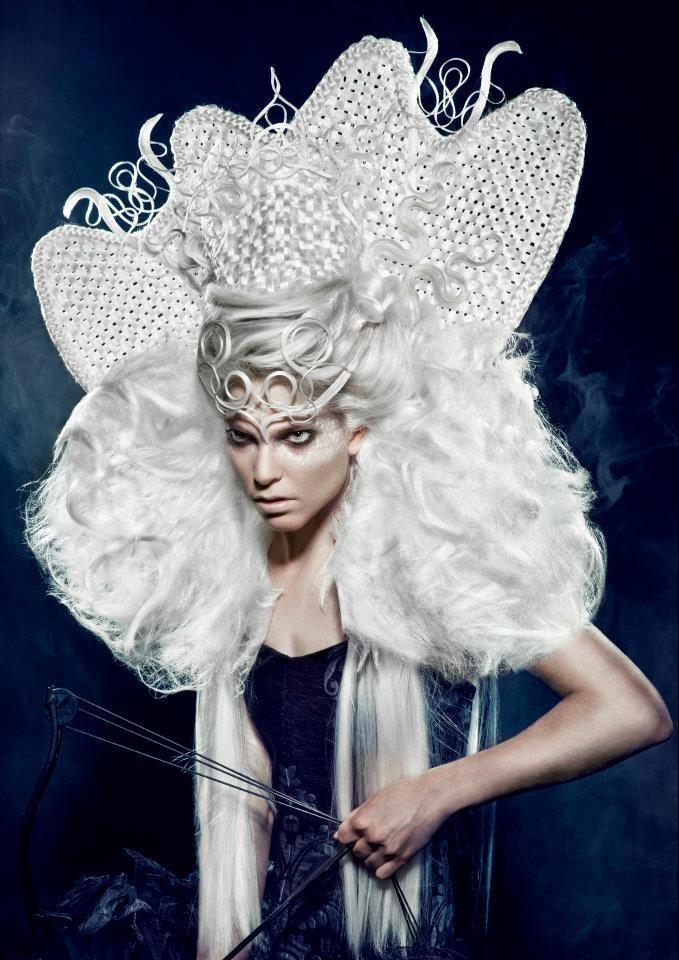 """"""" Hairstylist: Sanjay Ramcharan   Make-up Artist: Hanane Naji   Photographer: Richard Monsieurs   Stylist: Sanjay Ramcharan   Clothing: Sheguang Hu   Hair: Balmain Hair"""