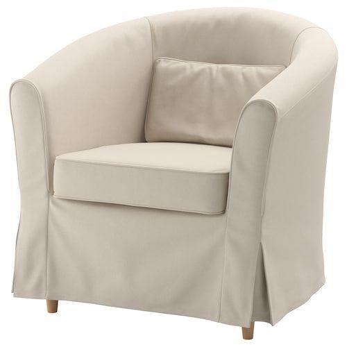 Poltrona Relax Pelle Ikea.Poltrona Tullsta Lofallet Beige Studio Fodere Poltrone E Cuscini