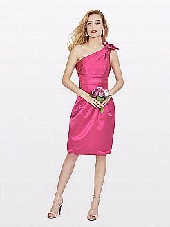 Tobie - θηκάρι ασύμμετρο σατέν φορέματα κουμπάρας - EUR 84,78€