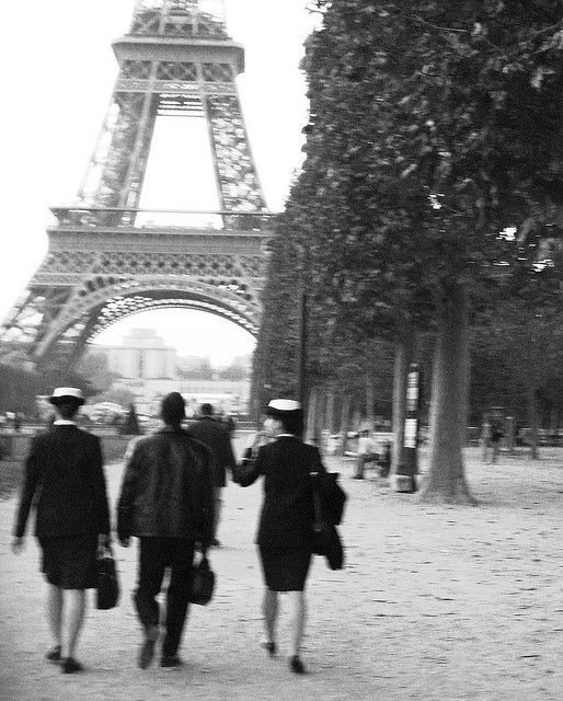 Vintage Paris by Lena_J, via Flickr