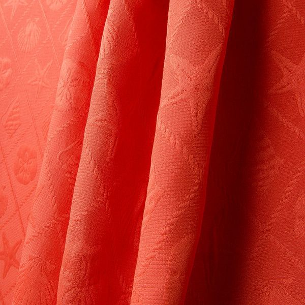 70 best Red Coral Fabrics images on Pinterest | Red coral, Coral ...