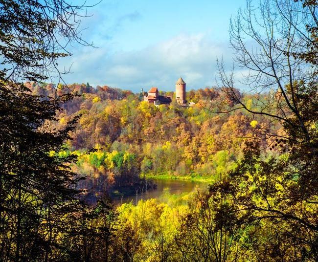 castle Turaida, Łotwa.