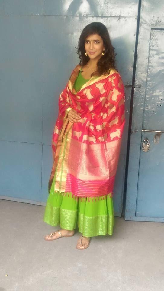 119 best Silk dupattas images on Pinterest | Indian dresses ...