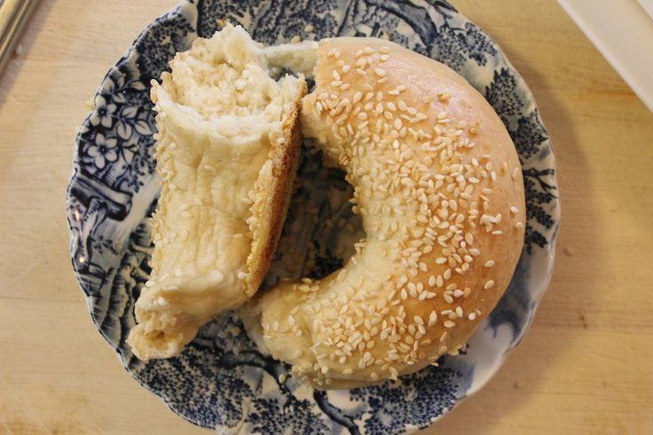 Sesame seed bagels!