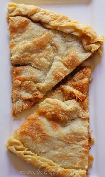 Lakror (Albanian pie -- Balkan/Mediterranean/Turkish/Italian/Greek influenced)