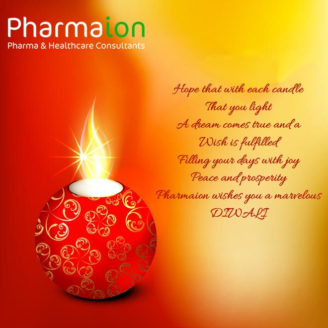 Pharmaion Wish You Laughter And Fun to Cheer Your Days, On This Festive Season of Diwali....!!