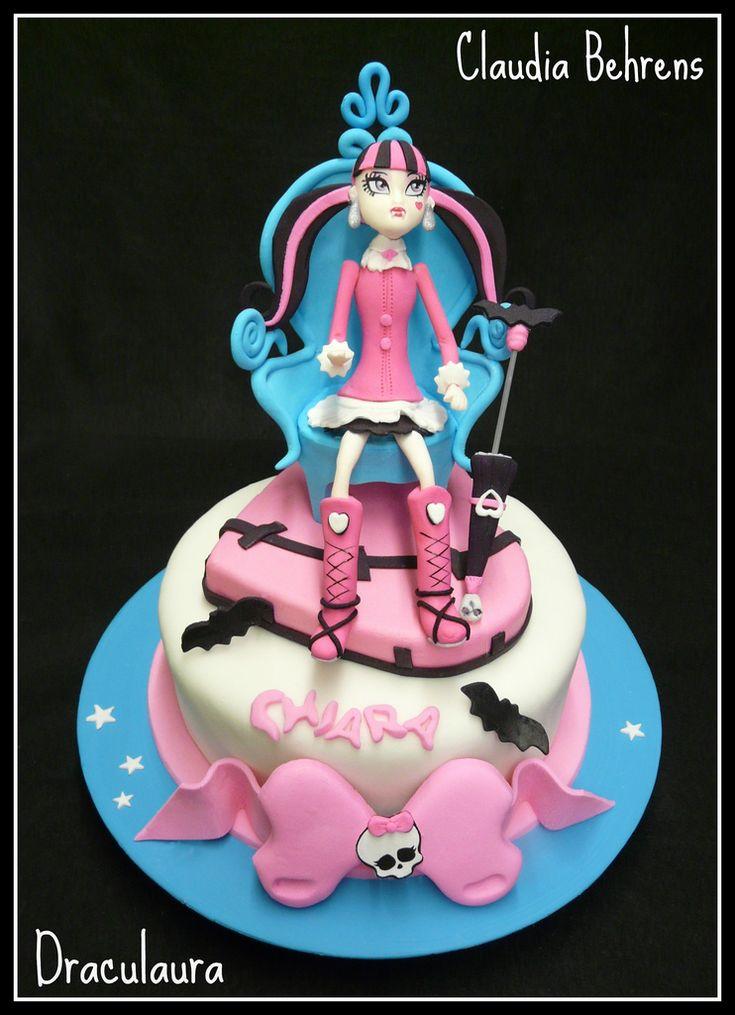 Más tamaños | monster high draculaura cake - claudia behrens | Flickr: ¡Intercambio de fotos!