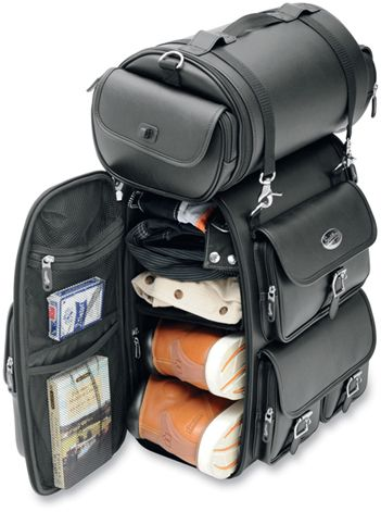 Safe Haven for Motorcyclists- Sissy bar Bags @ Motorcycle Blog   Advice Saddlebags and Luggage   News
