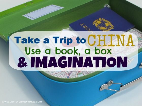 Take a trip to China with a book, a box and some imagination.