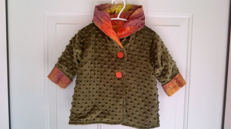 Child's Green Car Coat 6 months C90/15 by zoya49 on Etsy