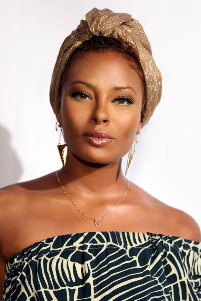 Eva Marcille - Top Celebrities with Hazel Eyes