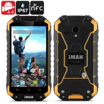 iMan i6 IP67 Rugged Phone