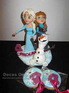 Doces Opções: Disney Frozen