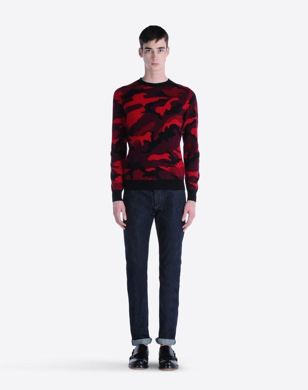 Valentino camouflage jumper