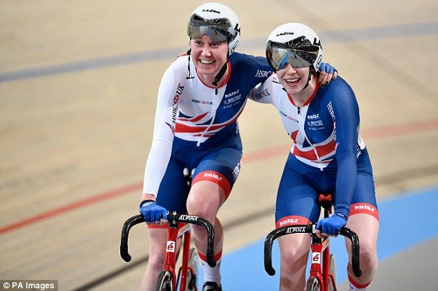 Katie Archibald and Emily Nelson were crowned world champions in the women's Madison...