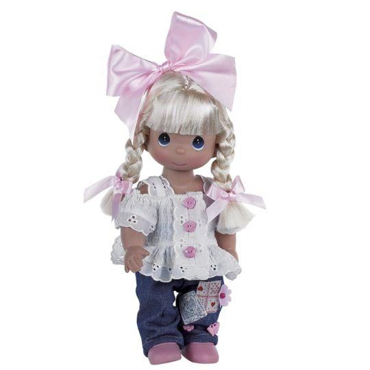 Precious Moments Dolls 2014 | Precious Moments Cute as a Button Doll