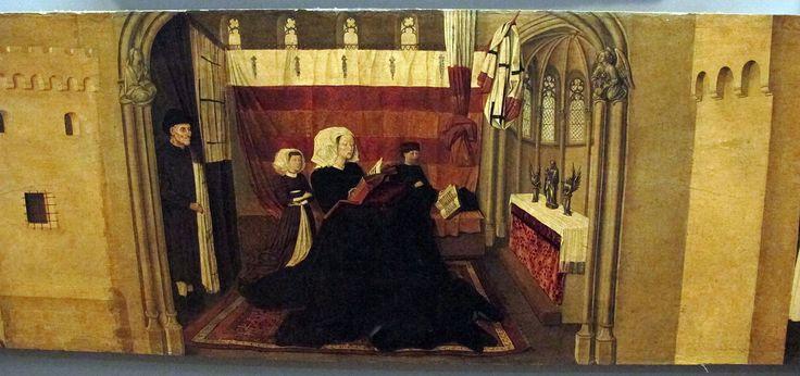 Сolantonio, s. vincenzo ferrer e sue storie, 1460 ca., da s. pietro maggiore 07. Galleria Napoletana (Museo di Capodimonte).