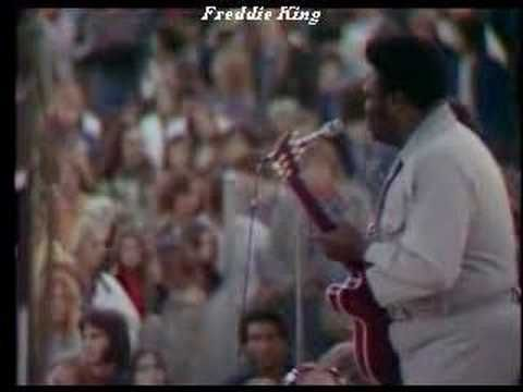 """Freddie King...this is one of my favorite videos.  Freddie playing in New York City. ~ """"Goin' Down"""" LIVE"""